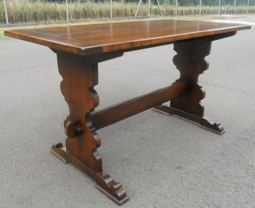 Oak Refectory Dining Table by Rackstraw